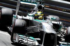 Foto Poster Nico Rosberg in Actie, F1 Mercedes Team 2013