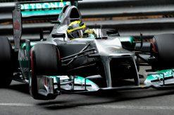 Foto Poster Nico Rosberg in Actie, F1 Mercedes Team 2012