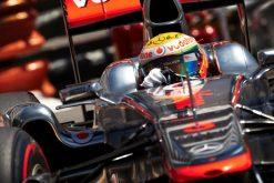 Foto Poster Lewis Hamilton tijdens de GP van Monaco, F1 McLaren Team 2011