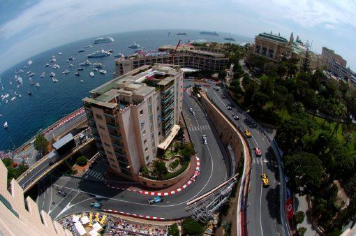 Foto Poster Formule 1 Start van GP Monaco 2006