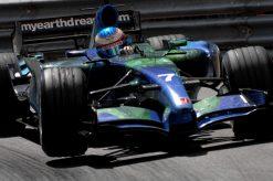 Foto Poster Jenson Button tijdens de GP van Monaco, F1 Honda Racing Team 2007
