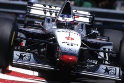 Mika Hakkinen McLaren GP Monaco 1997