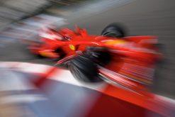 Kimi Raikkonen - Ferrari tijdens de Grand Prix van Monaco 2008