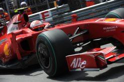 Kimi Raikkonen - Ferrari tijdens de Grand Prix van Monaco 2009