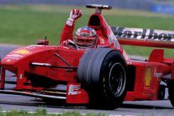 Foto Poster Michael Schumacher winnaar tijdens de GP van Canada, F1 Ferrari Team 1998