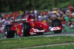 F1 Poster Michael Schumacher, Ferrari 2001