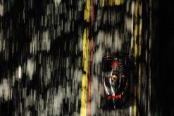 Foto Poster Lewis Hamilton tijdens de GP van Singapore, F1 McLaren Team 2009