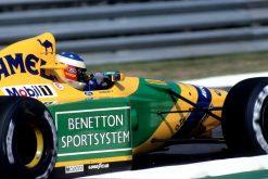 F1 Poster Michael Schumacher, Benetton 1992