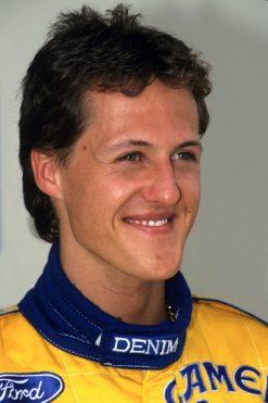 F1 Poster Michael Schumacher, Benetton 1993