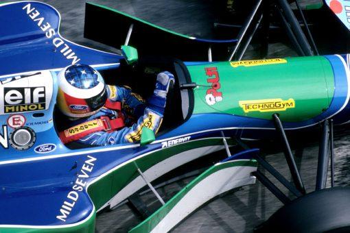 F1 Poster Michael Schumacher, Benetton 1994