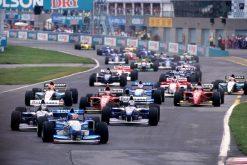 F1 Poster Michael Schumacher, Benetton 1995