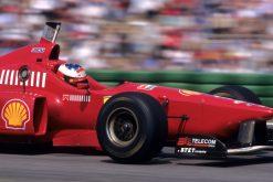 F1 Poster Michael Schumacher, Ferrari 1996
