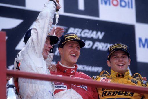 F1 Poster Michael Schumacher, Ferrari 1997