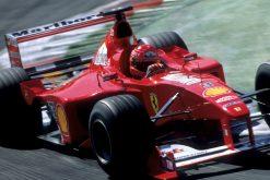 F1 Poster Michael Schumacher, Ferrari 2000