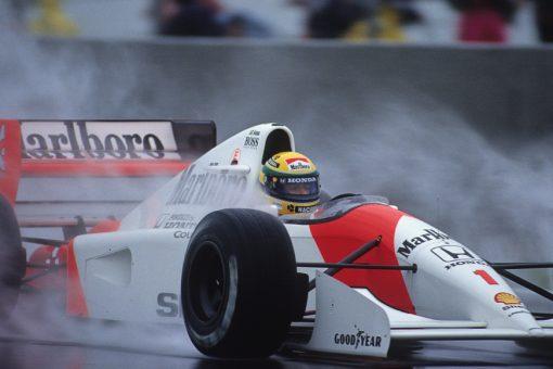 Poster van Ayrton Senna, F1 Team McLaren 1992