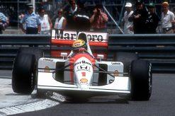 Foto Poster van Ayrton Senna, F1 Team McLaren 1991
