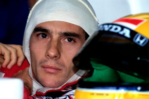 Foto Poster van Ayrton Senna, F1 Team McLaren 1992