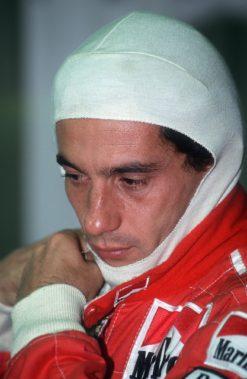 Foto Poster van Ayrton Senna, F1 Team McLaren 1993