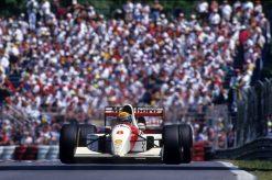 Poster van Ayrton Senna, F1 Team McLaren 1993