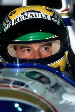 Foto Poster van Ayrton Senna, F1 Team Williams 1994