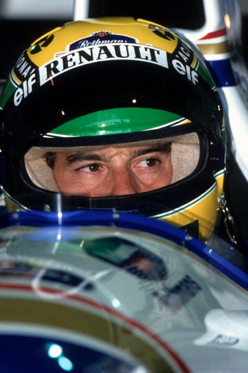 Foto Poster van Ayrton Senna, F1 Team Williams 1994