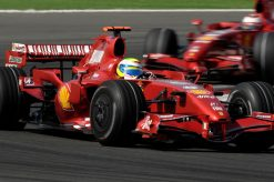 Foto Poster Felipe Massa in actie, F1 Ferrari Team 2007