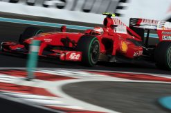 Kimi Raikkonen - Ferrari tijdens de Grand Prix van Abu-Dhabi 2009