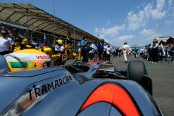 Foto Poster Lewis Hamilton tijdens de GP van Europa, F1 McLaren Team 2010
