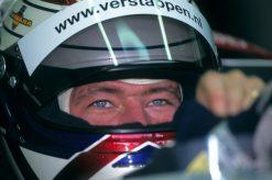 Foto Poster Jos Verstappen tijdens de GP van San Marino, F1 Simtek Team 1995