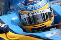 Foto Poster Fernando Alonso helm-shot 2006
