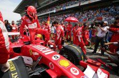 F1 Poster Michael Schumacher op de Grid, Ferrari 2006