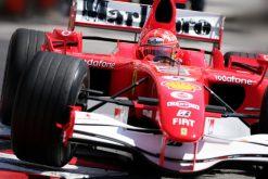 F1 Poster Michael Schumacher in Actie, Ferrari 2006