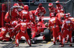 F1 Poster Michael Schumacher Pitstop, Ferrari 2006
