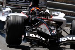 Foto Poster Christijan Albers tijdens de GP van Monaco, F1 MF1 Racing Team 2005