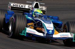 Foto Poster Felipe Massa in actie, F1 Sauber Team 2005