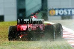 F1 Poster Michael Schumacher, Ferrari 2005