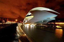 Ciudad de las Artes y las Ciencias, Valencia. Stad van Kunsten en Wetenschappen