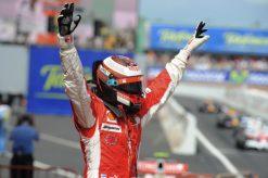 Kimi Raikkonen - Ferrari Winnaar van de Grand Prix van Spanje 2008