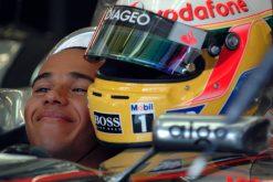 Foto Poster Lewis Hamilton tijdens de GP van Turkije, F1 McLaren Team 2007