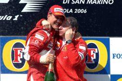 F1 Poster Michael Schumacher op het podium, Ferrari 2006