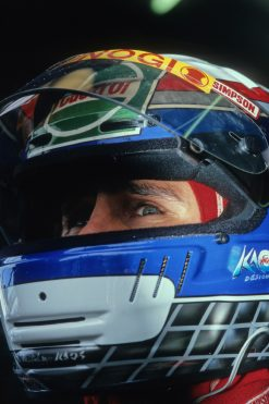 Foto Poster Alessandro Zanardi F1 Lotus Team 1994