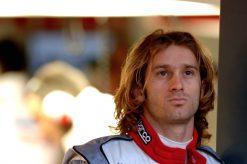 Foto Poster Jarno Trulli Portret tijdens de GP van Australie, F1 Toyota Team 2005