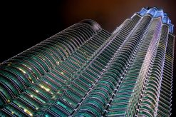 Petronas Towers, Kuala Lumpur in Maleisie