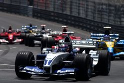 Foto Poster Juan Pablo Montoya in actie, F1 Williams Team 2003