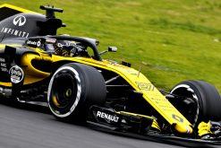 Nico Hulkenberg van het F1 Team Renault tijdens de Wintertest Barcelona, Formule 1 Seizoen 2018