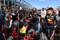 Max Verstappen Red Bull Racing GP Australie 2018 als Poster