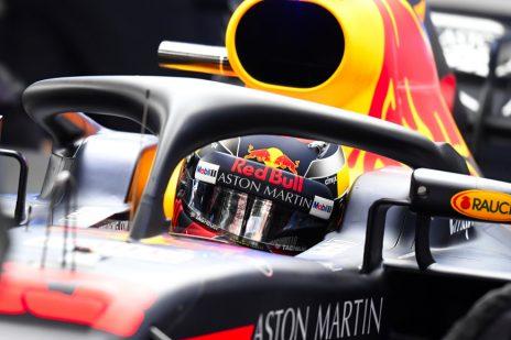 Max Verstappen van het F1 Team Red Bull Racing tijdens de Wintertest Barcelona, Formule 1 Seizoen 2018
