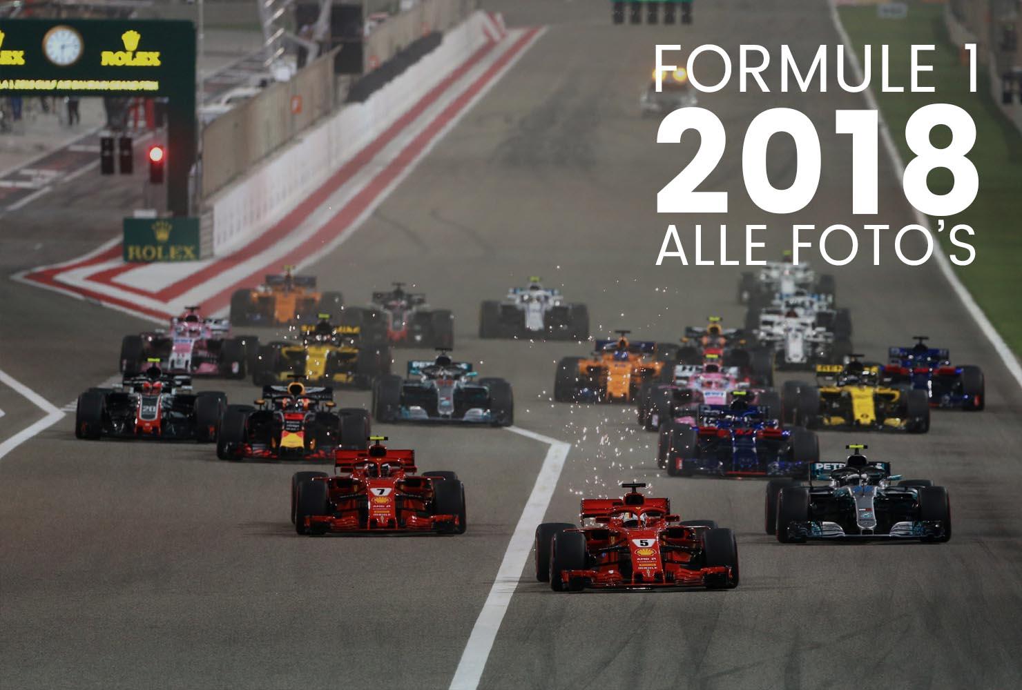 Alle foto's van het Formule 1 seizoen 2018 vind je hier! Je kan ze laten drukken op een poster, canvas en zelfs op behang!