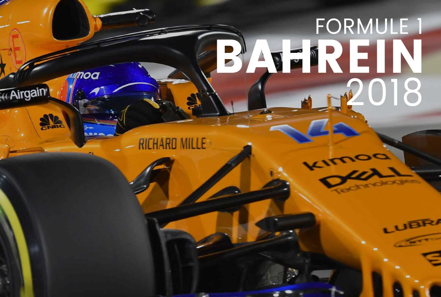 Alle foto's van de Grand Prix van Bahrein 2018 vind je hier! Je kan ze laten drukken op een poster, canvas en zelfs op behang!