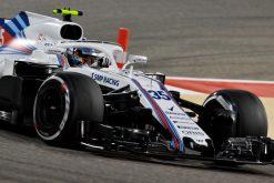 Sergey Sirotkin - Williams in actie tijdens de GP van Bahrein, Formule 1 Seizoen 2018